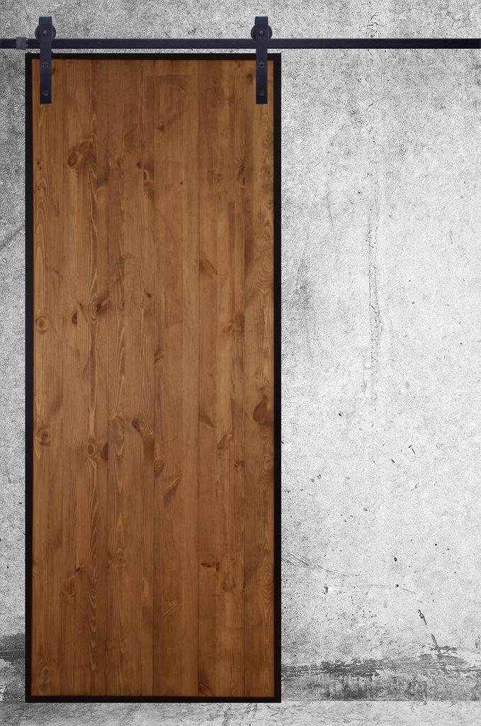 drzwi przesuwen loft, styl industrialny drzwi