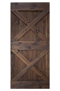 drzwi suwane drewniane, barn door, double X, podwójny iks, podwójny X,