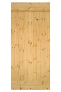 drzwi drewniane sosnowe, styl rustykalny, lite drewno
