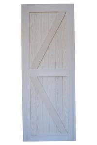 drzwi przesuwne białe, rustykalne, styl barn doors