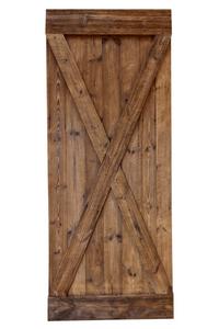 drzwi przesuwne ze starego drewna, szczotkowane, styl tustykalny, kolor naturalny