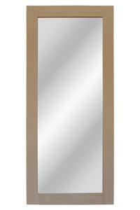 drzwi przesuwne z lustrem, lite drewno,