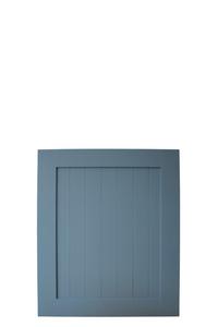 niebieskie małe drzwi, drzwiczki, drzwi przesuwne małe