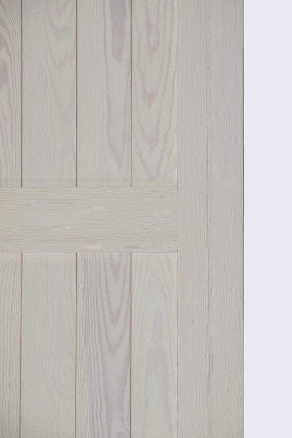 Białe drzwi przesuwne KAMA, biel rustykalna