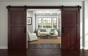 drzwi przesuwne dwuskrzydłowe - sposób na więcej przestrzeni we wnętrzu
