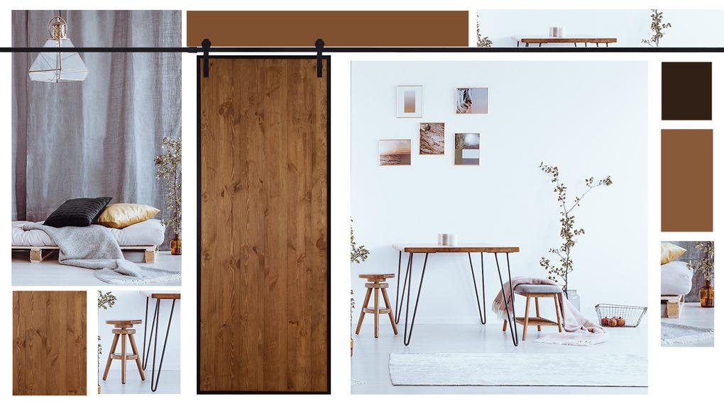 Drzwi przesuwny - mocny punkt w mieszkaniu