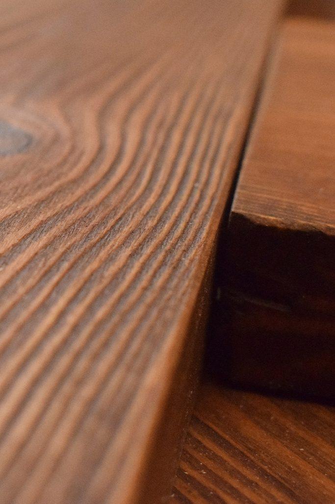 Drewno olejowane