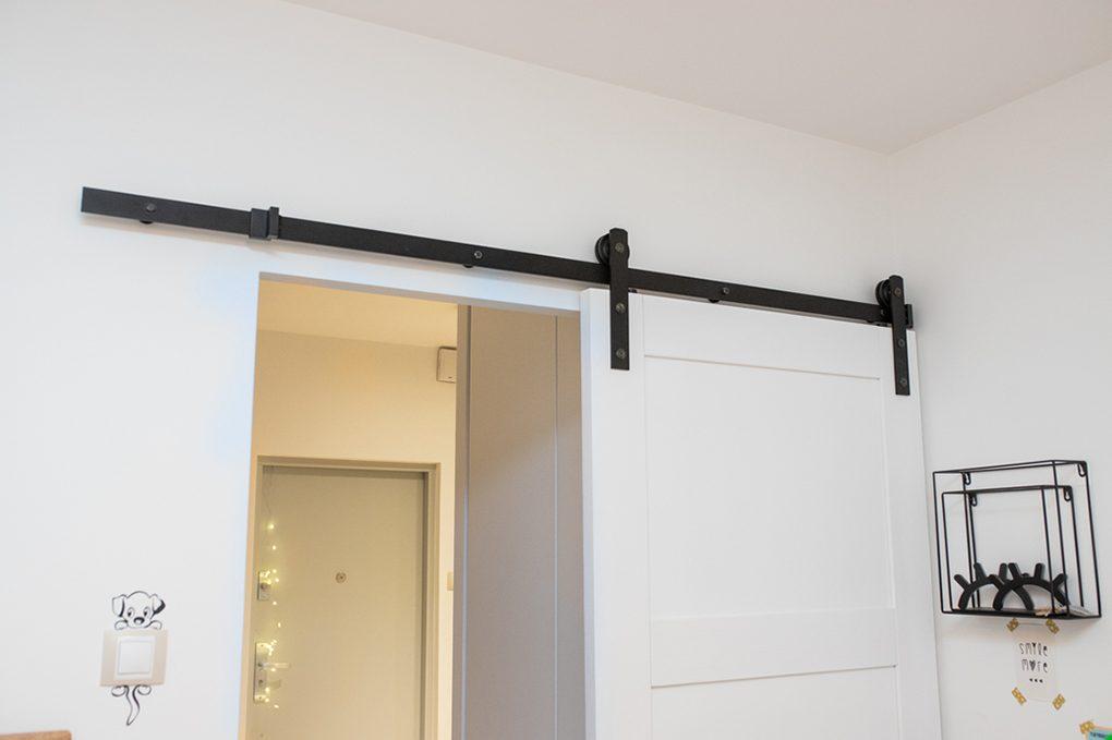 system przesuwny, prowadnica do drzwi przesuwnych, wieszaki do drzwi przesuwnych,drzwi przesuwne w bloku, drzwi przesuwne drewniane, drzwi przesuwne białe, eleganckie drzwi przesuwne, metalowe dekoracje na ścianę