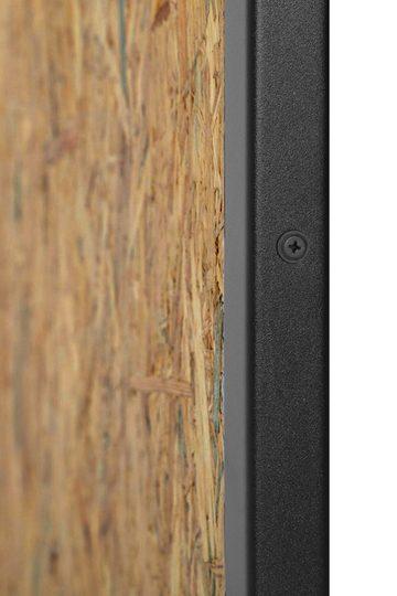 Drzwi przesuwne industrialne, model OSBE