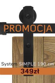 System SIMPLE 190cm promocja