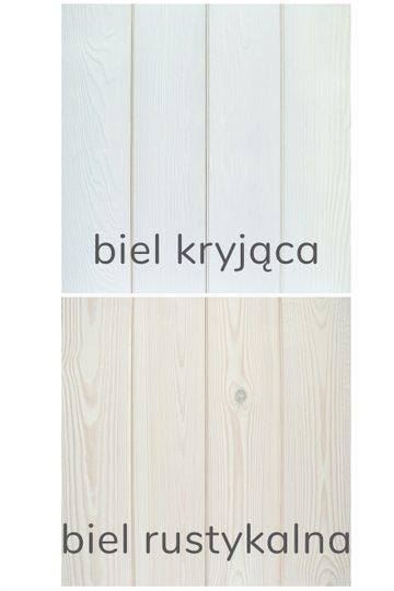 Zestaw próbek kolorów - Biele