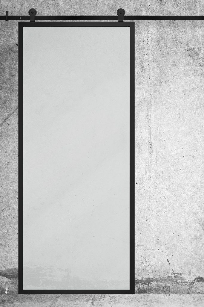 Drzwi przesuwne szklane GLASSO