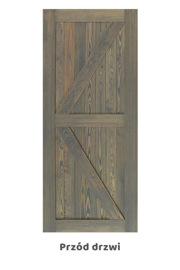 Drzwi przesuwne naścienne KAMA