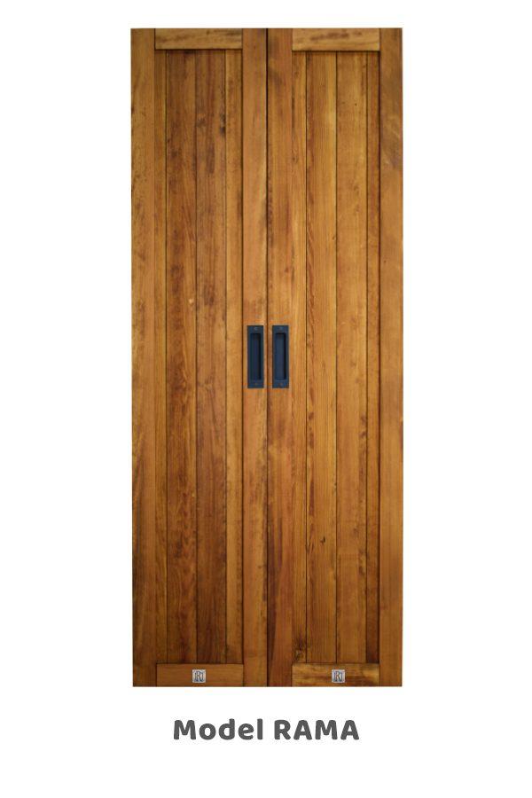 Wąskie drzwi przesuwne, model RAMA