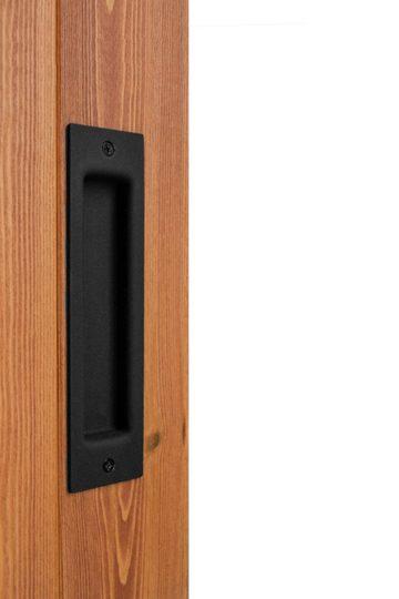 Zestaw klamek do drzwi przesuwnych
