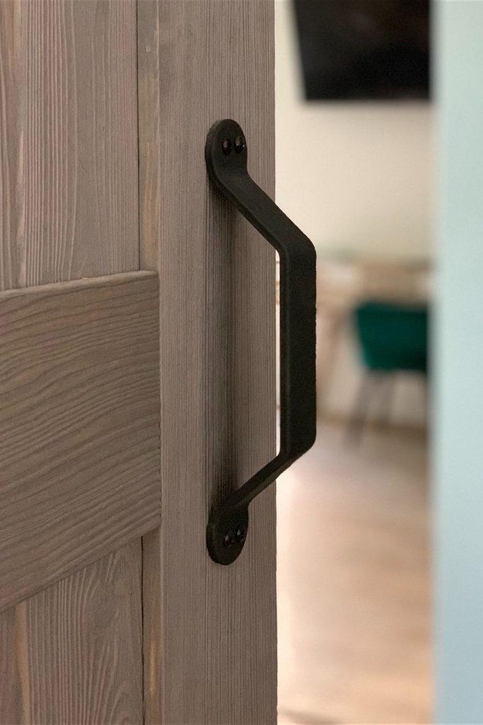 klamka do drzwi przesuwych, uchwyt do drzwi przesuwnych, drzwi przesuwne drewniane