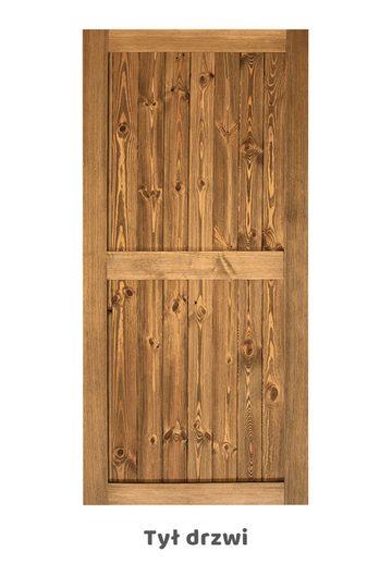 Drzwi sosnowe model 2IKS