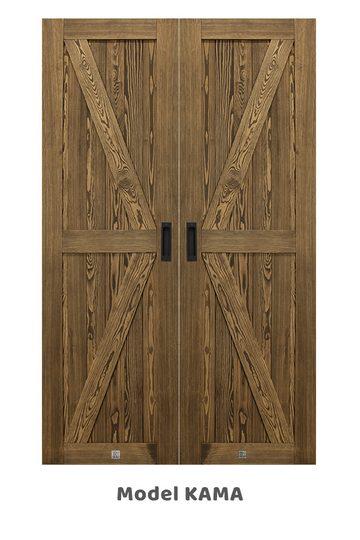 Wąskie drzwi przesuwne, model KAMA