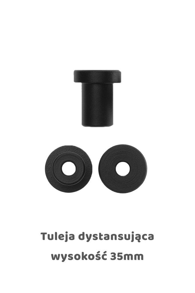 Tuleja dystansująca 35mm, kolor czarny