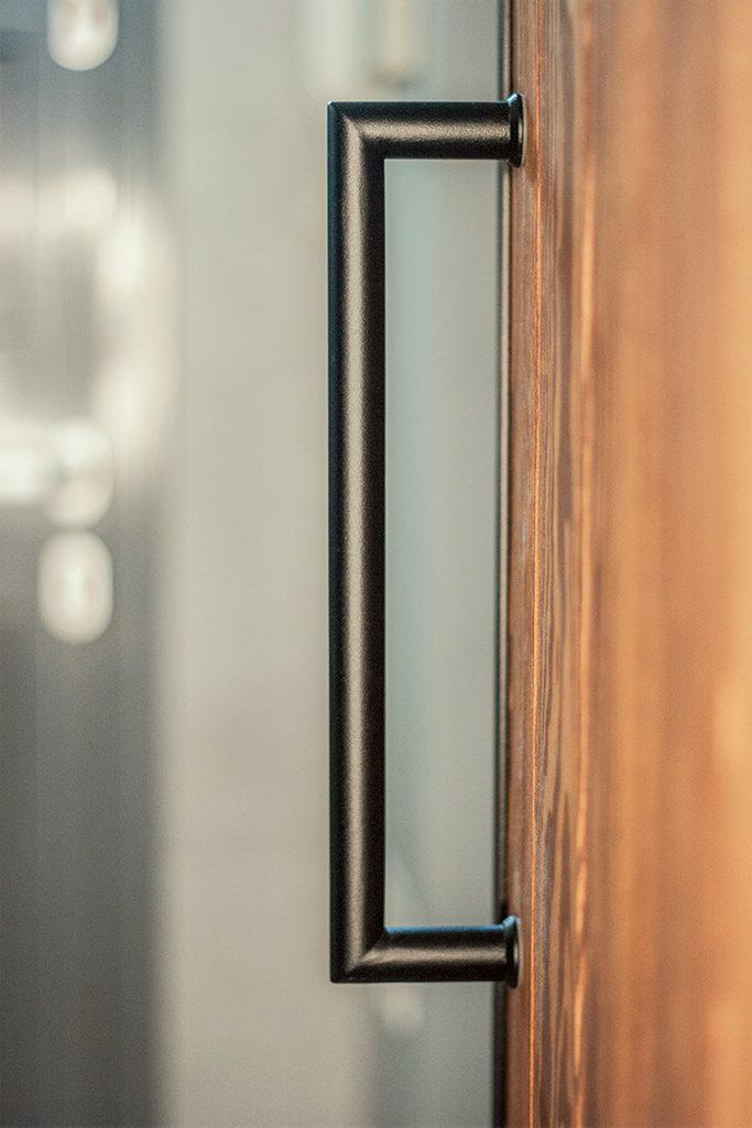 klamka do drzwi przesuwnych, uchwyt do drzwi przesuwnych, drzwi loftowe