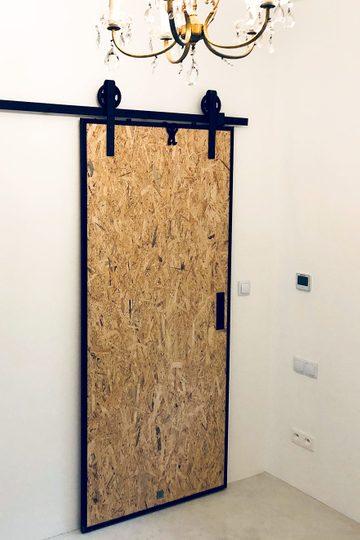 Drzwi przesuwne industrialne OSBE
