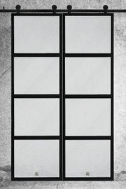 Drzwi szklane przesuwne podwójne, model ATELIER 4
